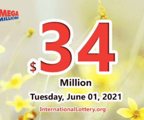A Texas player won $1 million with Mega Millions; Jackpot increases to $34 million