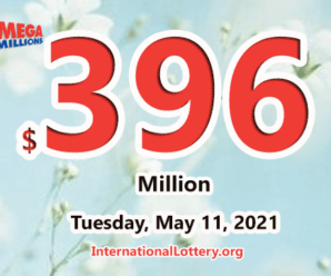 2 players won the second prizes; Mega Millions Jackpot is $396 million now
