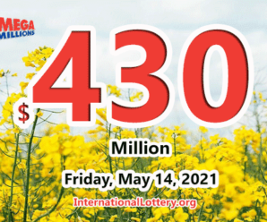 Mega Millions jackpot is waiting the owner, It is $430 million now