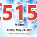 5 players won the second prizes; Mega Millions jackpot jumps to $515 million