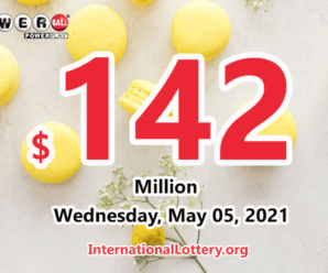 Powerball results of May 01, 2021: Jackpot raises to $142 million