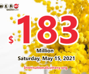 Result of Powerball on May 12, 2021: Two players won $1 million prizes