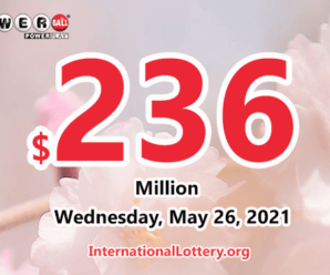 Powerball results for 2021/05/22: Four players won $5 million