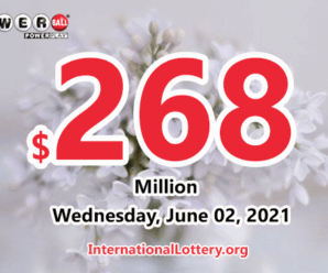 Who will win the next $268 million Powerball jackpot on Wednesday, June 02, 2021?