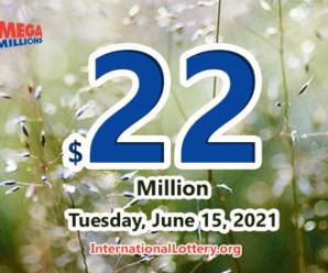 A player won $4 million with Mega Millions; Jackpot raises to $22 million
