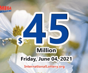 Mega Millions results of June 01, 2021 – Two players won $1,000,000 prize