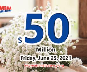 2 players win the second prizes of Mega Millions; Jackpot raises to $50 million