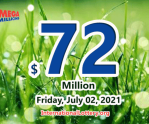 Mega Millions results for 2021/06/29; Jackpot stands at $72 million