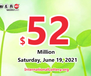 Powerball results for 2021/06/16: Jackpot stands at $52 million