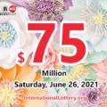 Powerball results of June 23, 2021: Jackpot raises to $75 million