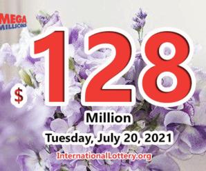 Kentucky player won $1 million; Mega Millions jackpot rises to $128 million