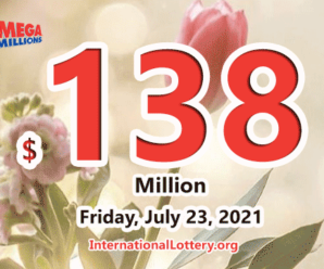 Mega Millions jackpot is waiting the owner, It is $138 million now