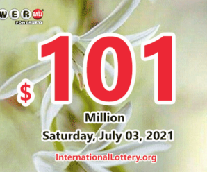 Result of June 30, 2021 – $101 million Powerball Jackpot is waiting for its owner