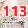 Who will win the next $113 million Powerball jackpot on July 07, 2021?