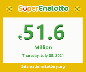 SuperEnalotto jackpot raises continuously to €51.6 million