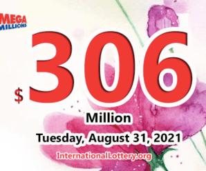 3 players became millionaires, Mega Millions jackpot soars up to $306 million