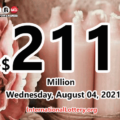 Powerball results for 2021/07/31 – $211 million Jackpot is waiting for the owner