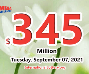 A player win $2 million; Mega Millions jackpot hits $345 million