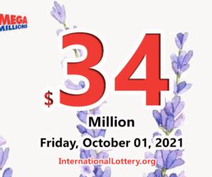 A second prize; Mega Millions jackpot jumps to $34 million