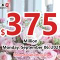 3 second prizes belonged Powerball players; Jackpot rolls to $375 million