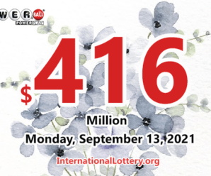 Result of Powerball on September 11, 2021: A Pennsylvania player win $2 million