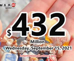 Powerball results for 2021/09/13: Jackpot is $432 million