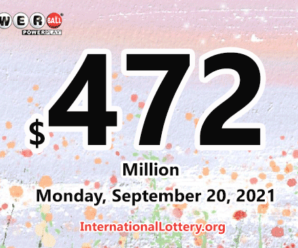 $1 million of Powerball belonged to New Jersey player on September 18, 2021