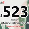 2021/09/23 – 3 new millionaires; Powerball jackpot climbs to $523 million
