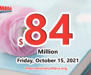 Mega Millions results for 2021/10/12: Jackpot stands at $84 million