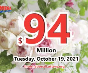 Rolling balls push the Mega Millions jackpot to $94 million