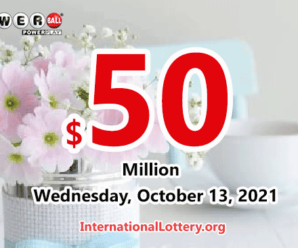 Powerball results for 2021/10/11: Jackpot stands at $50 million